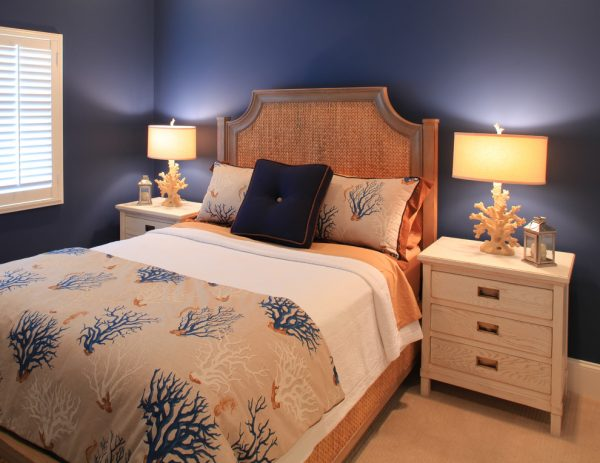 bedroom decorating ideas and designs Remodels Photos Amy Tyndall Design Wilmington, NCCarolina United States beach-style-bedroom
