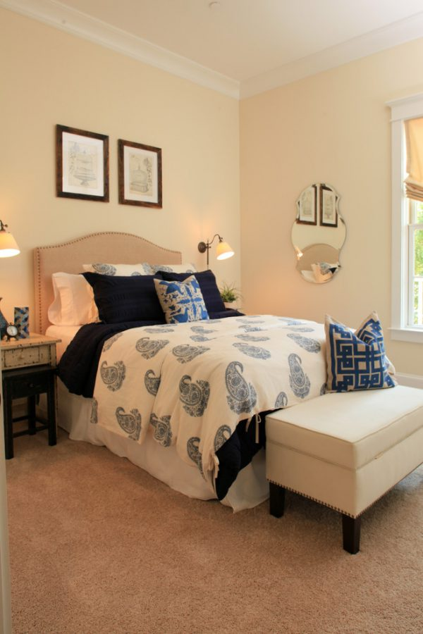bedroom decorating ideas and designs Remodels Photos Amy Tyndall Design Wilmington, NC Carolina United States traditional-bedroom-005