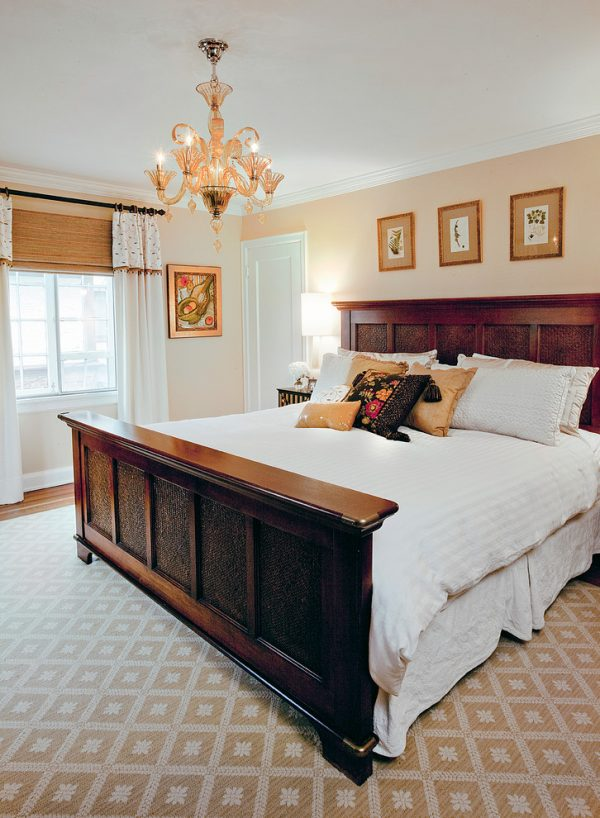 bedroom decorating ideas and designs Remodels Photos Amy Youngblood Interiors Cincinnati Ohio United States eclectic-bedroom-001