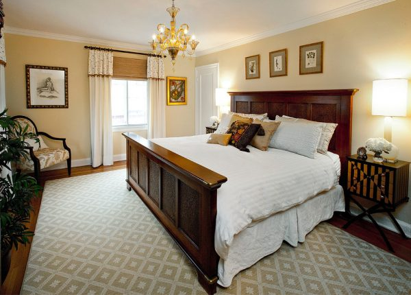 bedroom decorating ideas and designs Remodels Photos Amy Youngblood Interiors Cincinnati Ohio United States eclectic-bedroom