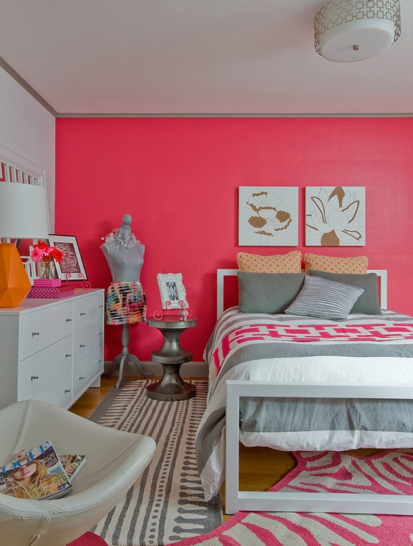 bedroom decorating ideas and designs Remodels Photos Ana Donohue Interiors Melrose Massachusetts united states eclectic-kids