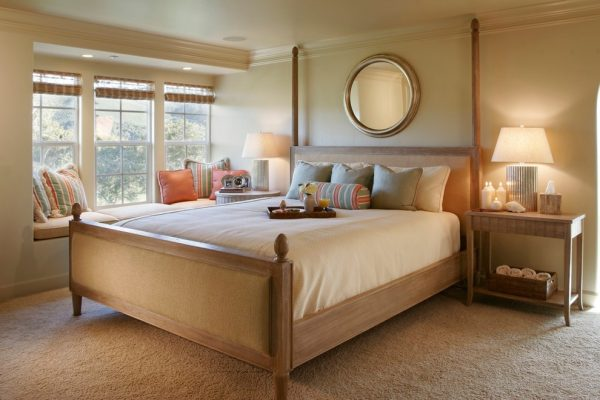 bedroom decorating ideas and designs Remodels Photos Andrea Bartholick Pace Interior Design Carmel-by-the-Sea eclectic-bedroom