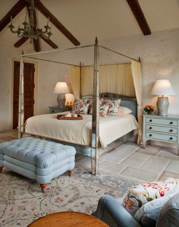 bedroom decorating ideas and designs Remodels Photos Andrea Bartholick Pace Interior Design Carmel-by-the-Sea mediterranean-bedroom-003