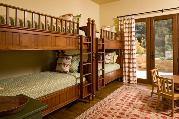 bedroom decorating ideas and designs Remodels Photos Andrea Bartholick Pace Interior Design Carmel-by-the-Sea rustic-kids