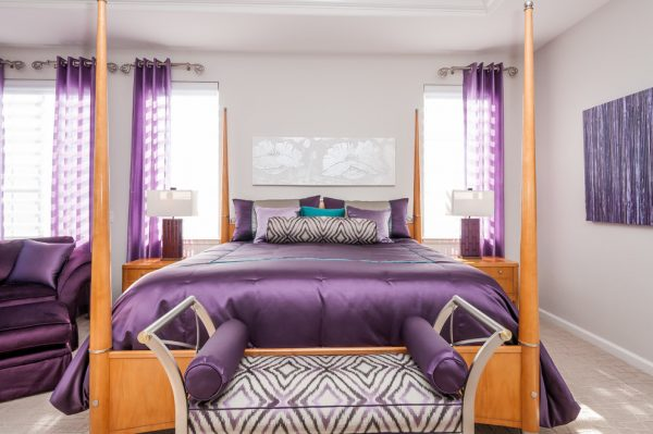 bedroom decorating ideas and designs Remodels Photos Anna Jacoby Interiors Fremont California united states contemporary-bedroom-001