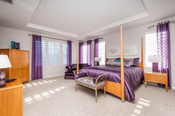 bedroom decorating ideas and designs Remodels Photos Anna Jacoby Interiors Fremont California united states contemporary-bedroom-002