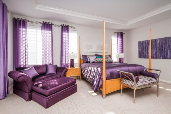 bedroom decorating ideas and designs Remodels Photos Anna Jacoby Interiors Fremont California united states contemporary-bedroom
