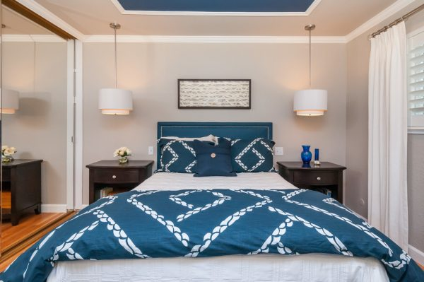 bedroom decorating ideas and designs Remodels Photos Anna Jacoby Interiors Fremont California united states transitional-bedroom
