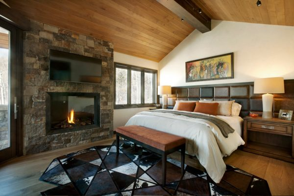 bedroom decorating ideas and designs Remodels Photos Anne Grice Interiors Aspen Colorado united states rustic-bedroom