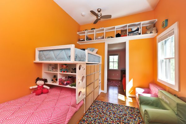 bedroom decorating ideas and designs Remodels Photos Arlington Construction Management  Arlington Virginia United States contemporary-kids