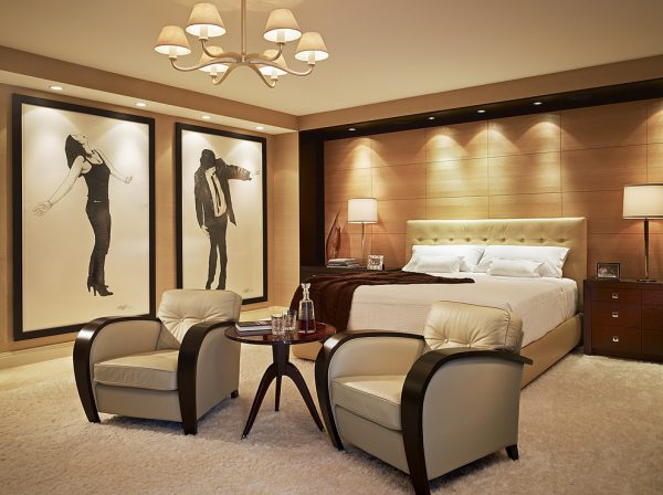 bedroom decorating ideas and designs Remodels Photos Arnold Schulman Design GroupMiami Florida United States contemporary-bedroom