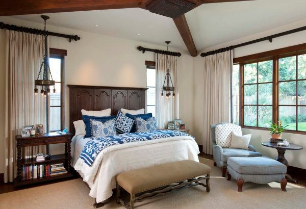 bedroom decorating ideas and designs Remodels Photos Astleford Interiors, Inc.San Diego California United States mediterranean-bedroom-001