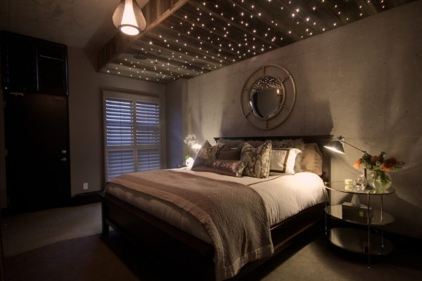 bedroom decorating ideas and designs Remodels Photos Avalon Interiors Thornhill Ontario Canada industrial-bedroom