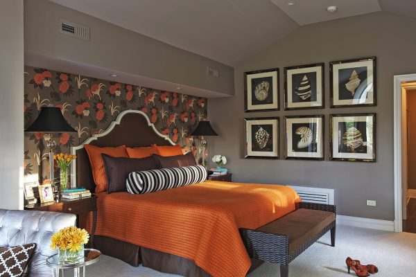 bedroom decorating ideas and designs Remodels Photos B Fein Interiors LLCScarsdale New York United States transitional-bedroom-001
