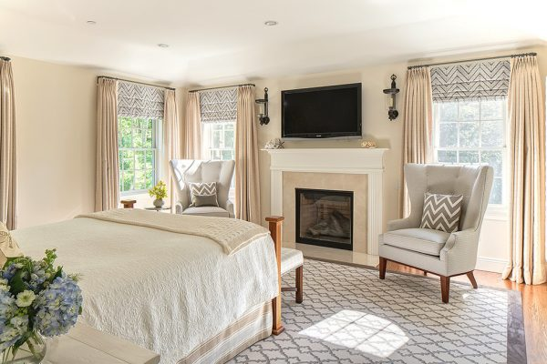 bedroom decorating ideas and designs Remodels Photos B Fein Interiors LLCScarsdale New York United States transitional-bedroom-003