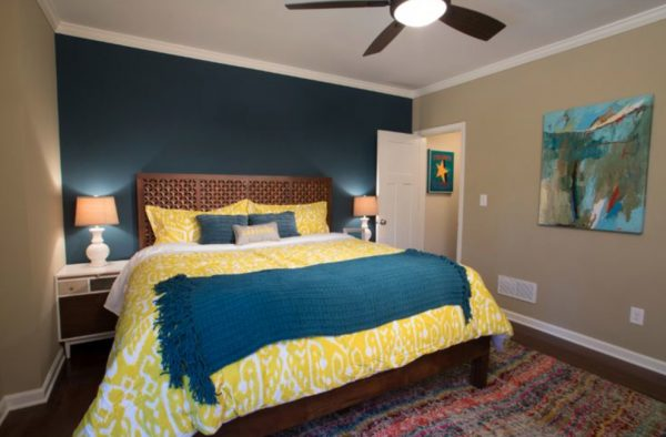 bedroom decorating ideas and designs Remodels Photos BLU Interiors Chelsea Dunbar Sarasota Florida eclectic-bedroom