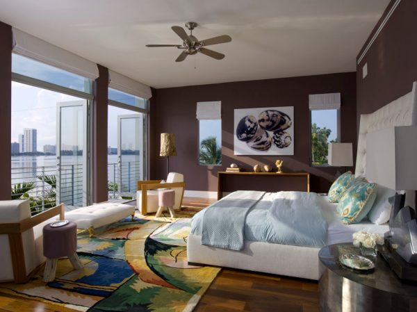 bedroom decorating ideas and designs Remodels Photos BROWN DAVIS INTERIORS, INC. Miami Beach Florida United States contemporary-bedroom-001