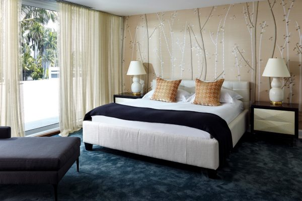 bedroom decorating ideas and designs Remodels Photos BROWN DAVIS INTERIORS, INC. Miami Beach Florida United States contemporary-bedroom-003