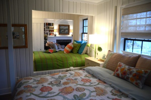bedroom decorating ideas and designs Remodels Photos Bayberry Cottage South Haven Michigan united states beach-style-bedroom