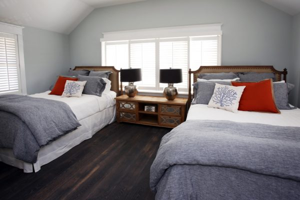bedroom decorating ideas and designs Remodels Photos Beach Dwellings Avalon New Jersey United States beach-style-bedroom-001