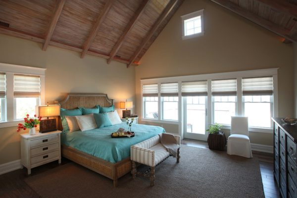 bedroom decorating ideas and designs Remodels Photos Beach Dwellings Avalon New Jersey United States beach-style-bedroom-007