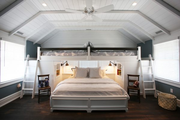 bedroom decorating ideas and designs Remodels Photos Beach Dwellings Avalon New Jersey United States beach-style-bedroom