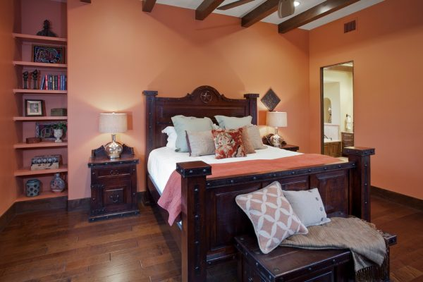bedroom decorating ideas and designs Remodels Photos Bella Villa Design Studio Austin Texas United States southwestern-bedroom-001