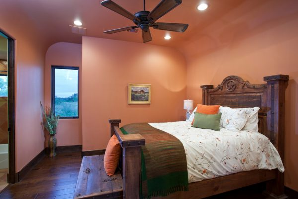 bedroom decorating ideas and designs Remodels Photos Bella Villa Design Studio Austin Texas United States southwestern-bedroom-002