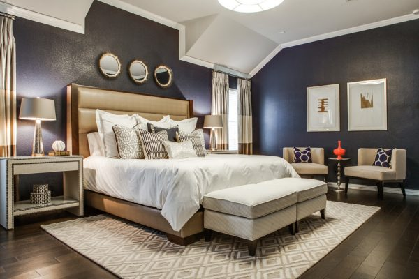 bedroom decorating ideas and designs Remodels Photos Beth Dotolo, ASID, RID, NCIDQ Seattle Washington United States transitional-bedroom-004