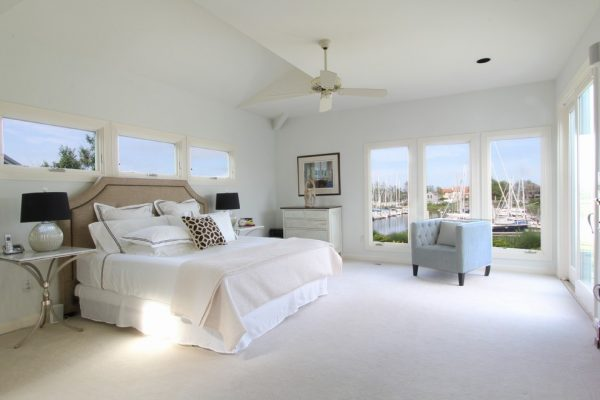 bedroom decorating ideas and designs Remodels Photos Birgit Anich Staging & Interiors Westchester County New York United States beach-style-bedroom