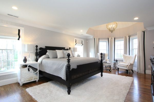 bedroom decorating ideas and designs Remodels Photos Birgit Anich Staging & Interiors Westchester County New York United States modern-bedroom-001
