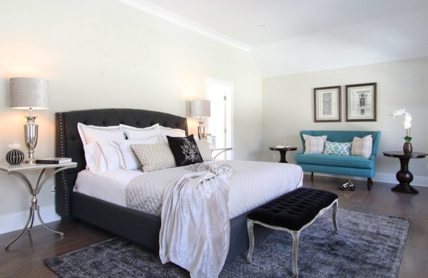 bedroom decorating ideas and designs Remodels Photos Birgit Anich Staging & Interiors Westchester County New York United States modern-bedroom-002