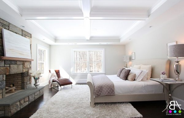 bedroom decorating ideas and designs Remodels Photos Birgit Anich Staging & Interiors Westchester County New York United States modern-bedroom-003
