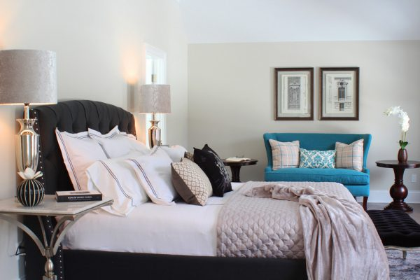 bedroom decorating ideas and designs Remodels Photos Birgit Anich Staging & Interiors Westchester County New York United States modern-bedroom