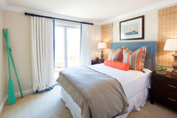 bedroom decorating ideas and designs Remodels Photos Brooke Wagner Design Corona del Mar, Newport Beach California United States beach-style-bedroom-004
