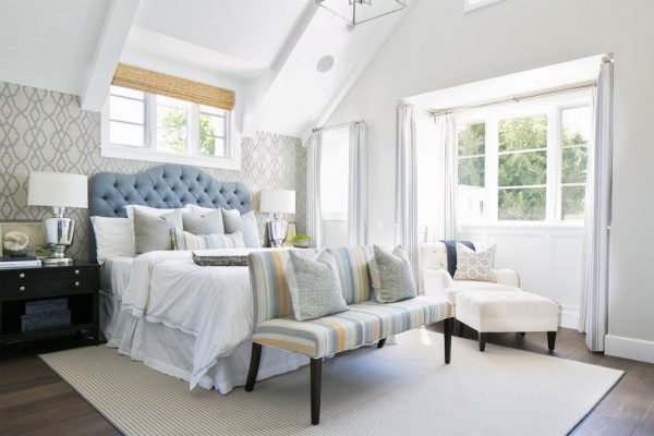 bedroom decorating ideas and designs Remodels Photos Brooke Wagner Design Corona del Mar, Newport Beach California United States beach-style-bedroom-007