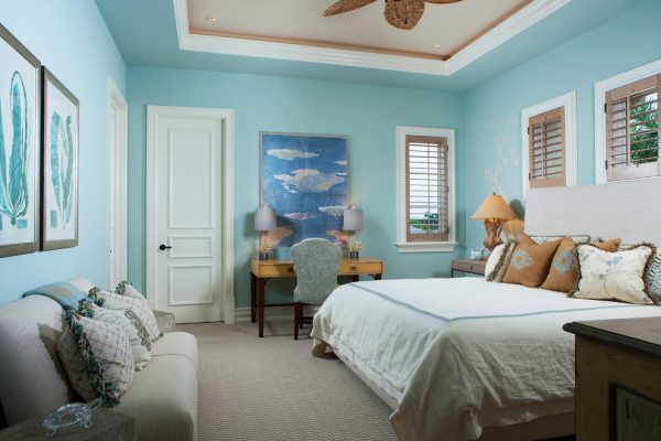 bedroom decorating ideas and designs Remodels Photos Bruce Palmer Design Studio Wilmington Delaware United States tropical-bedroom-004