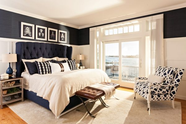 bedroom decorating ideas and designs Remodels Photos Casabella Interiors Sandwich Massachusetts united states beach-style-bedroom-001