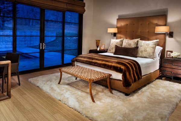 bedroom decorating ideas and designs Remodels Photos Cathers Home Basalt Colorado united states contemporary-bedroom