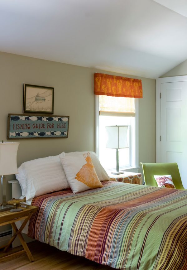 bedroom decorating ideas and designs Remodels Photos Celia Bedilia Cumberland Maine united states contemporary-bedroom