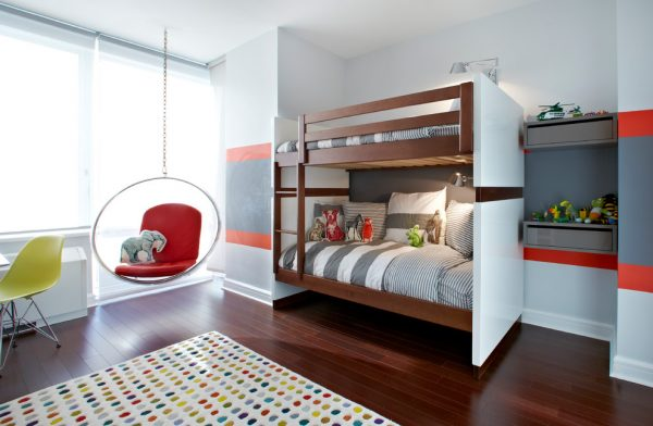 bedroom decorating ideas and designs Remodels Photos Chango & Co. Avenue Brooklyn New York United States contemporary-kids