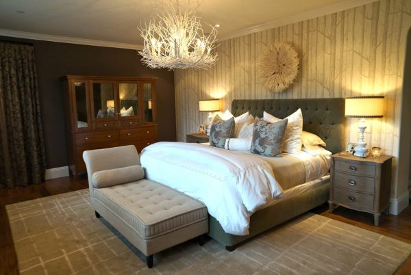 bedroom decorating ideas and designs Remodels Photos Chelsea Pineda Interiors Calabasas California United States traditional-bedroom