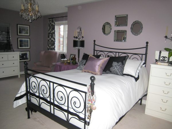 bedroom decorating ideas and designs Remodels Photos Chic Decor & Design, Margarida Oliveira Oakville Ontario Canada eclectic-bedroom-001