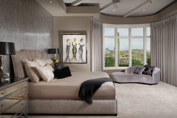 bedroom decorating ideas and designs Remodels Photos Chimera Interior Design Scottsdale Arizona united states contemporary-bedroom-002
