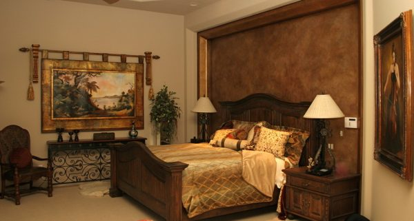 bedroom decorating ideas and designs Remodels Photos Chimera Interior Design Scottsdale Arizona united states traditional-bedroom