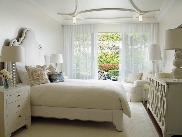 bedroom decorating ideas and designs Remodels Photos Cindy Ray Interiors, Inc. West Palm Beach Florida United States beach-style-bedroom-001