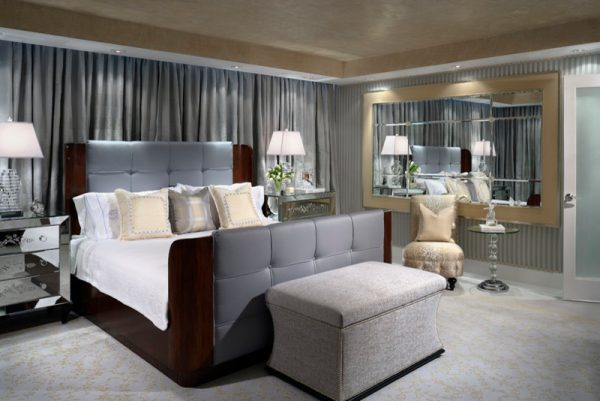bedroom decorating ideas and designs Remodels Photos Cindy Ray Interiors, Inc. West Palm Beach Florida United States contemporary-bedroom-001