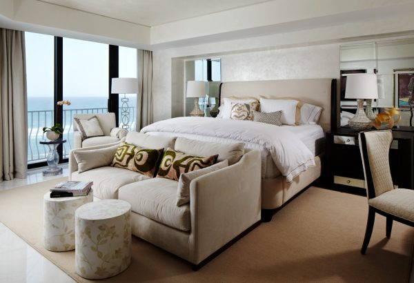 bedroom decorating ideas and designs Remodels Photos Cindy Ray Interiors, Inc. West Palm Beach Florida United States contemporary-bedroom-006