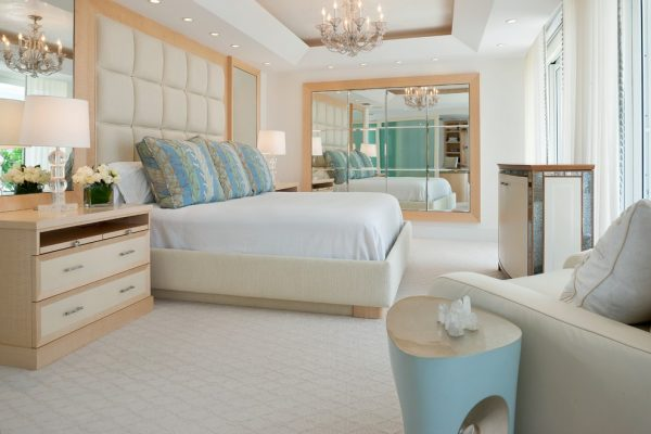 bedroom decorating ideas and designs Remodels Photos Cindy Ray Interiors, Inc. West Palm Beach Florida United States tropical-bedroom
