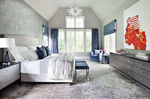 bedroom decorating ideas and designs Remodels Photos Clean Design Scarsdale New York United States contemporary-bedroom-011